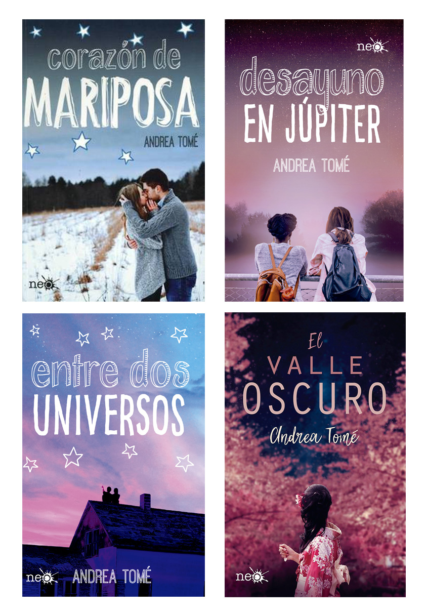 Combo Universo Andrea Tomé - Pack 4 Libros