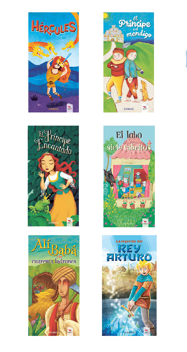 Pack 6 libros infantiles 2018