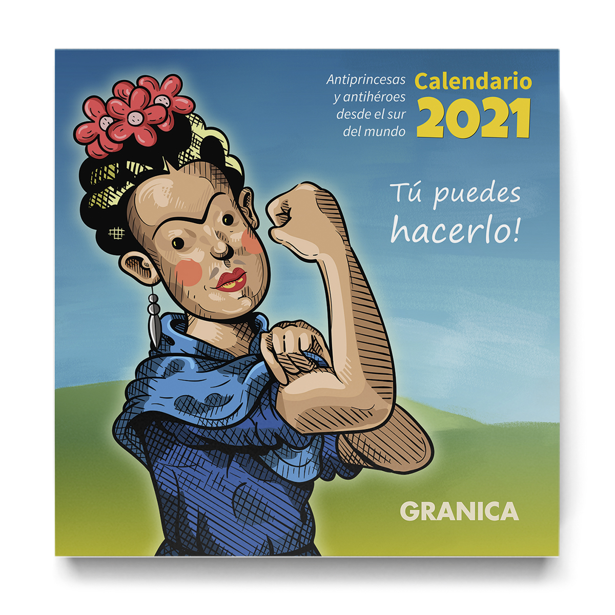 Antiprincesas y Antihéroes - Calendario Pared
